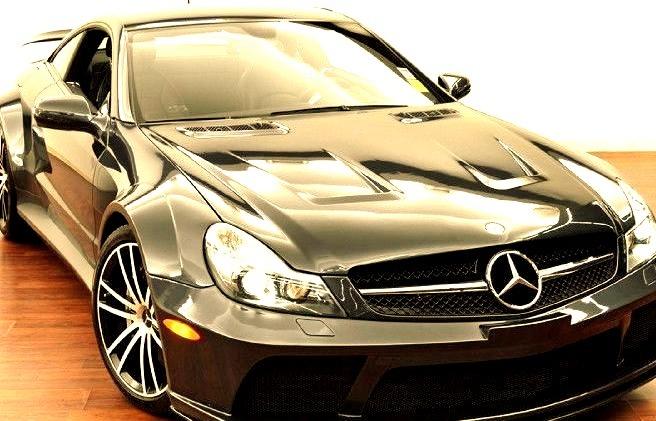 Black Mercedes AMG